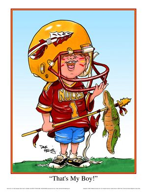 Florida State Seminole That's My Boy Print - Sports Fan Treasures