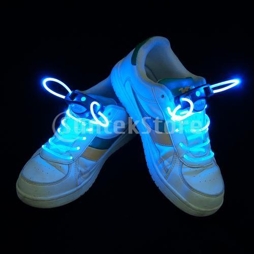Break the Night with LED Glow Shoelaces