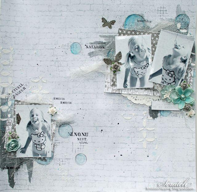 Ark og blomster fra Papirdesign