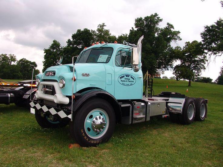 Antique Gmc Tractors : Gmc d coe s lcf and other big haulers