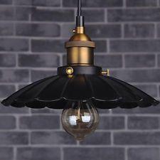 Промышленный ретромультяшная утюг винтаж чердак потолочные светильники люстра подвеска лампа светильник