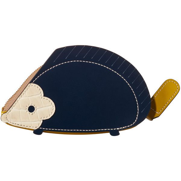 Hedgehog Coin Purse ❤ liked on Polyvore featuring bags, wallets, coin pouch, coin purse, change purse, orla kiely and orla kiely wallet