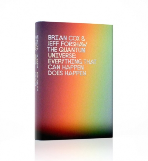 Peter Saville designed cover for the new Brian Cox book