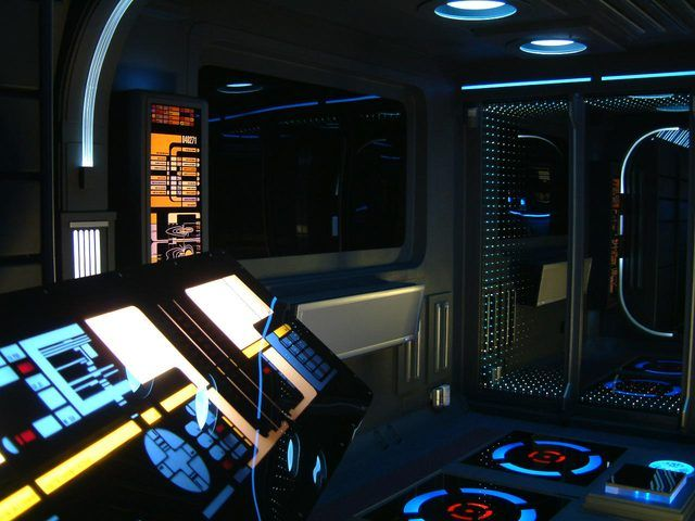 Apartment Designed After 'Star Trek' Control Console