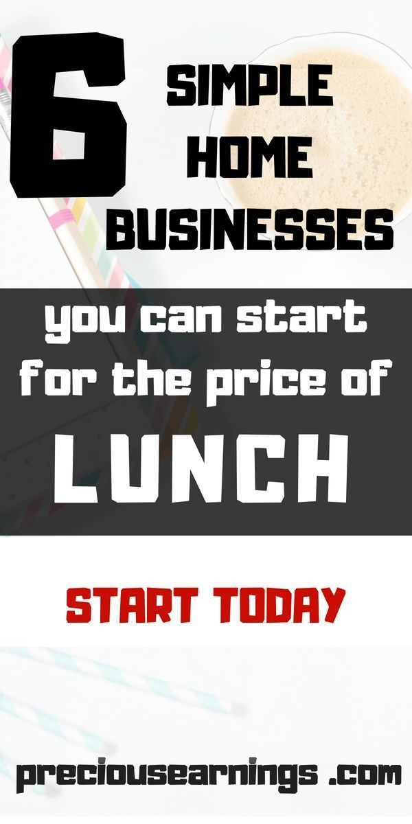 Legit Home Business Ideas Little To No Startup Cost Earn