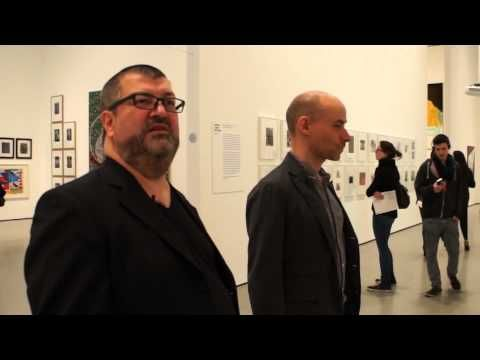 MoMA exhibits; Sigmar Polke confuses; A critical look at a survey of Sigmar Polke - YouTube