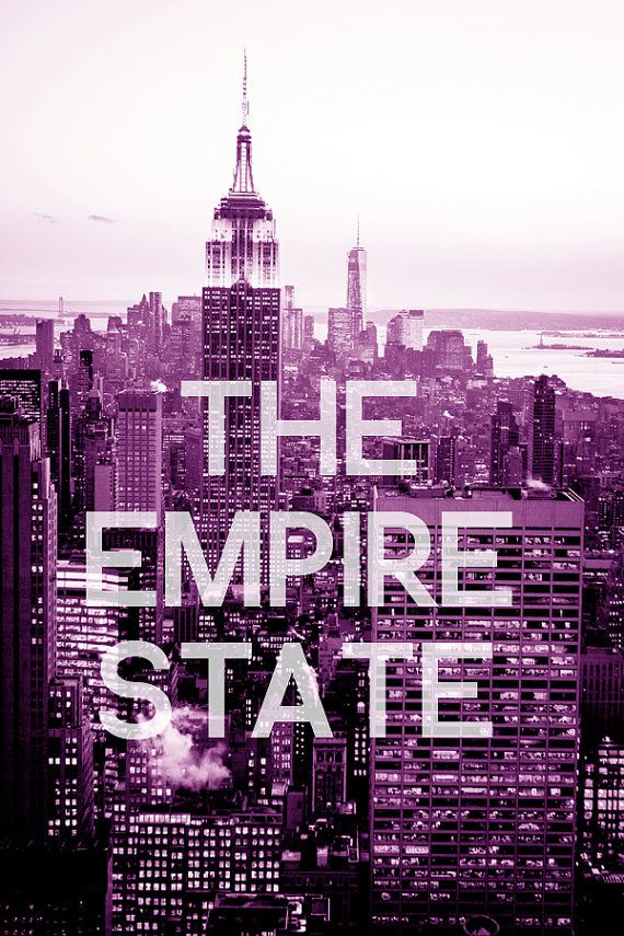 The Empire State- 8x10 NYC Skyline Art Printhttps://www.etsy.com/shop/DottedOwlsArt