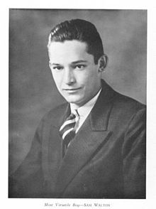 Sam Walton ~ A businessman, entrepreneur, and Eagle Scout born in Kingfisher, Oklahoma best known for founding the retailers Walmart and Sam's Club.