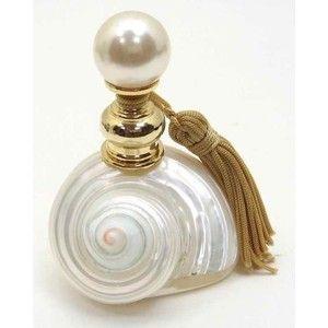 Amazon.com: Shell Perfume Bottle with Khaki Tassel: Home & Garden