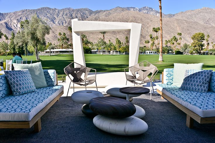 This week, everyone will flock to Palm Springs, California, for fairs, fetes, designer showhouses, Ol' Blue Eyes and more. Here, we share highlights of what they'll be doing in the desert.