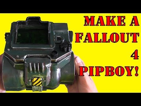 How To Make a Fallout 4 Pip-Boy (DIY) - YouTube