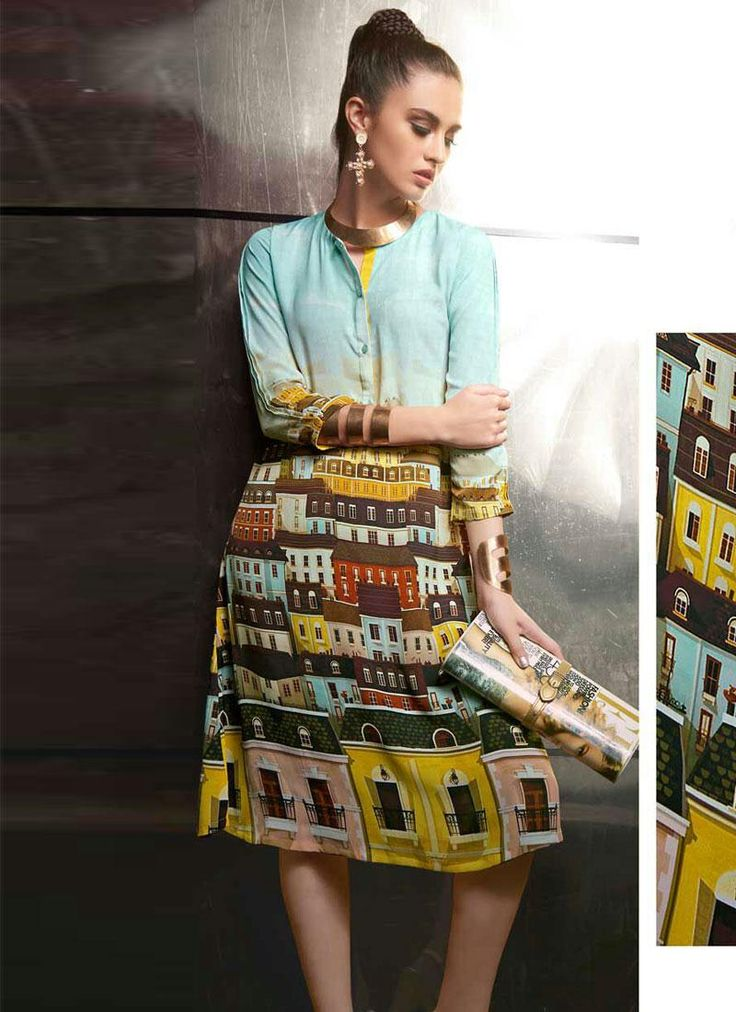 latest Kurti Online Shopping in india Contact us: +91-9824678889 Email id: sales@manjaree.in