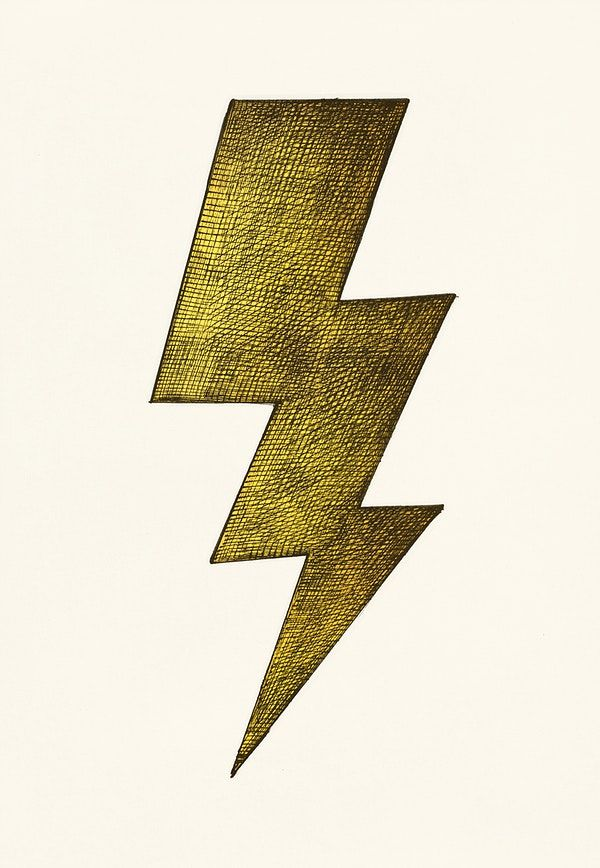 How To Draw A Thunderbolt : thunderbolt, Hand-drawn, Lightning, Illustration, Image, Rawpixel.com, Hands,, Earth, Drawings,, Illustrations