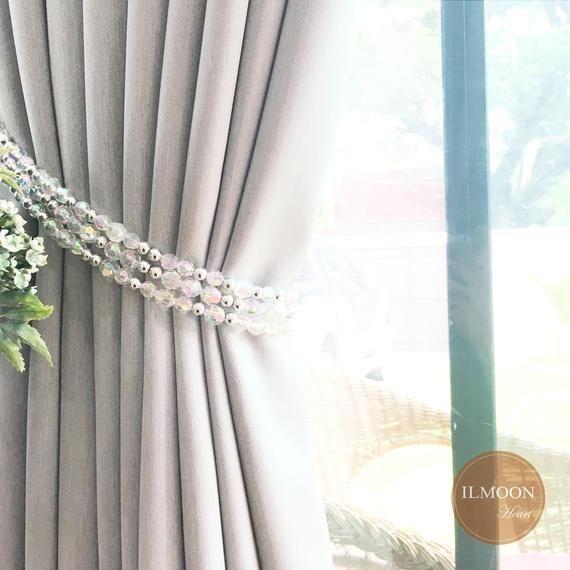 Crystal Curtain Tie Backs Crystal Ornament Modern Curtain