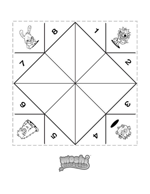 69d945e0ac5a8678e6f375c4b44865f6 18 best images about pokemon week on pinterest perler bead on fortune teller paper template