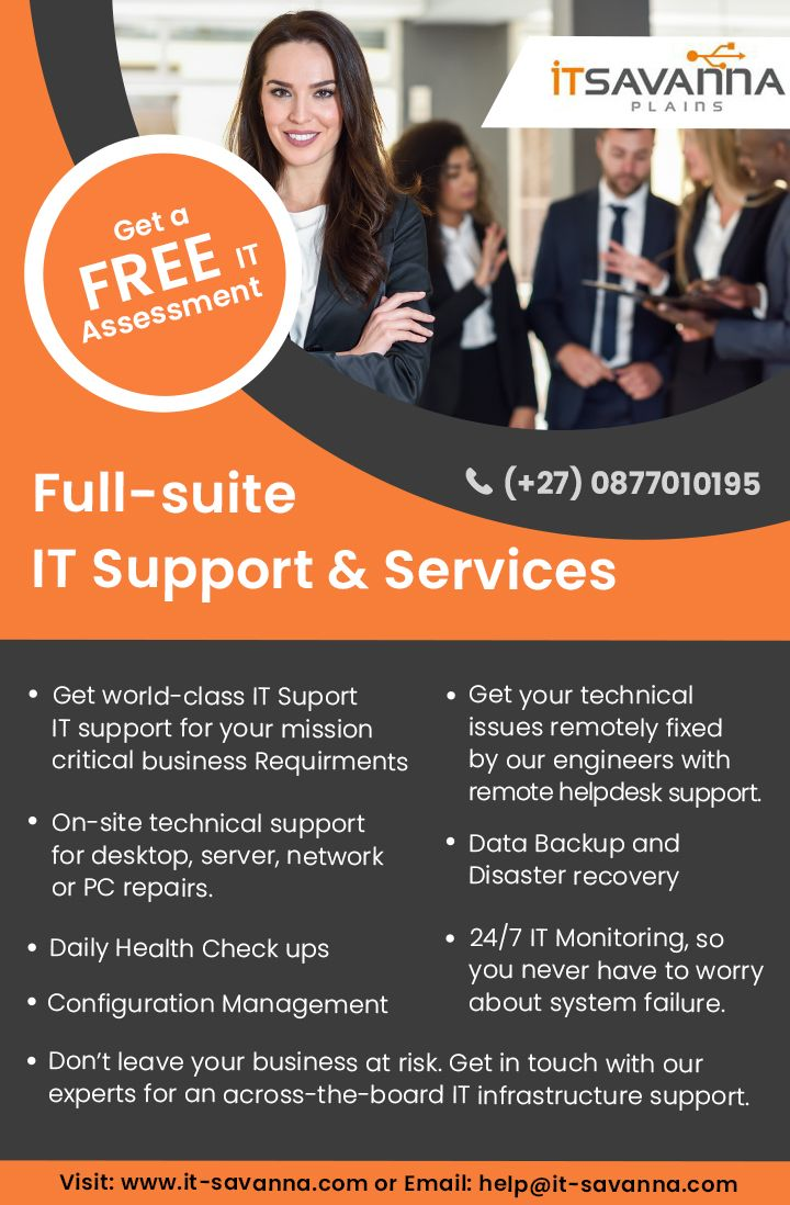 It Savanna Provides Managed Service Packages And Professional It