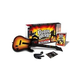 Guitare Pour Ps3 + Jeu Guitar Hero World Tour