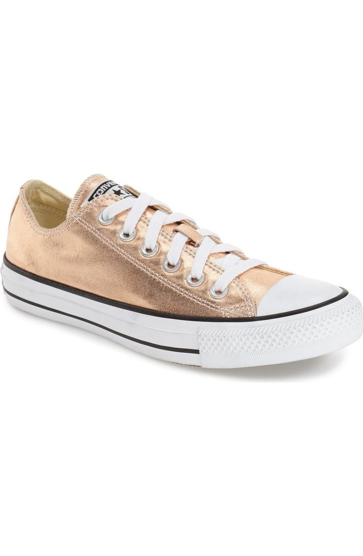 swooning for gold metallic Converse sneakers @nordstrom #Nordstrom