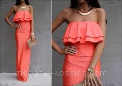 Платье в пол продам