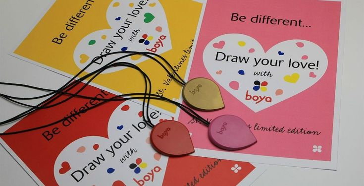 Boya necklaces are crayons on a string that you can wear as jewelry. Not only they look cute, you also won't lose them this way and you can draw wherever you go   www.boyacrayons.com  #creativity #uniquejewelry #crayons #ergonomic