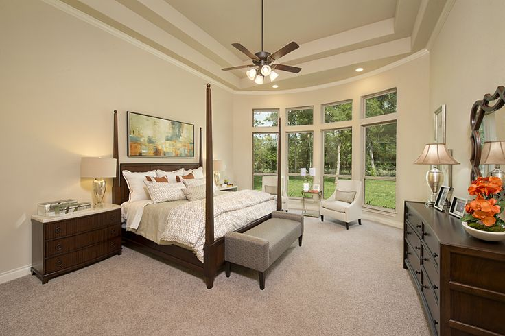4931 sq ft model home master bedroom home perry