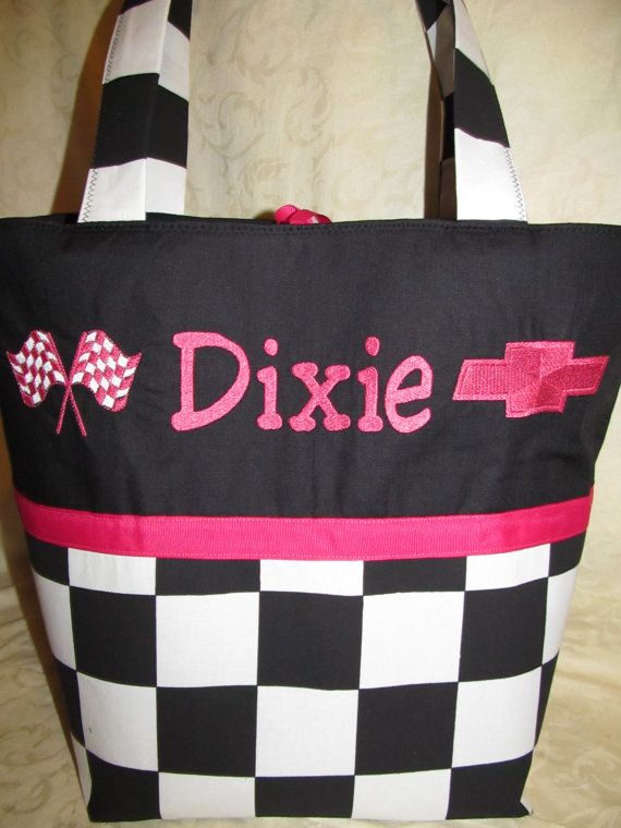 Custom Handmade racing flag checkered flag by creativesewing2, $49.99