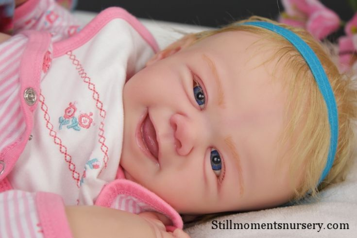 Reborn Baby Girl Abby Rose by Nikki Holland [2504] : Still Moments Nursery: Completed Reborn Baby Dolls, Reborning Supplies, Reborn Doll Kits, Tutorials, Nikki Holland Melbourne Australia