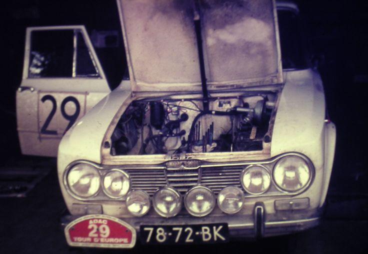 Tour d'Europe Rally 1667 Uitgevallen in Marokko.