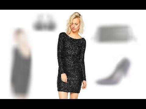 3 Party Outfit Tipps für Flora:   http://www.fancybeast.de/cocktailkleider/schwarzes-glitzerkleid-kurz-rueckenfrei-party-outfit/ #Glitzerkleid #Kleider #Schwarz #Outfit #Stil #PartyOutfit #Dress