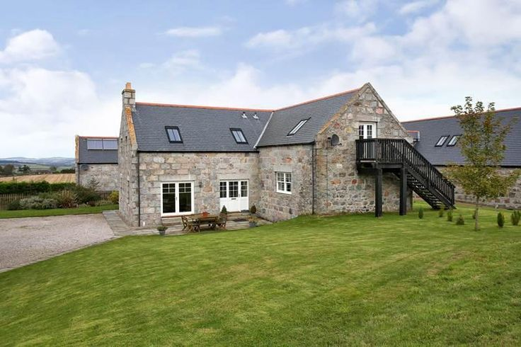 Cosier than a castle! Brampton Steading - an original stone barn converted into a luxurious home in Maryculter, Scotland