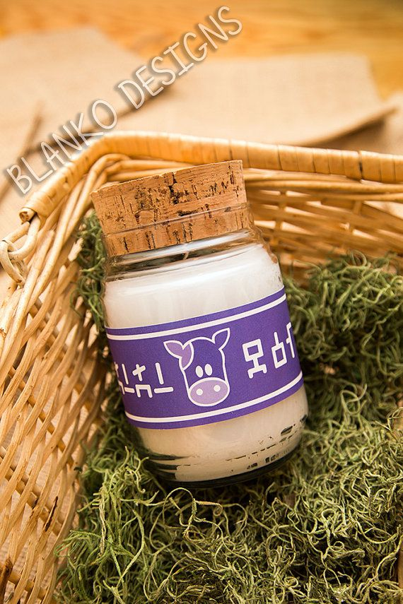 Legend of Zelda Large Lon Lon Milk Candle Classic by Blankoo