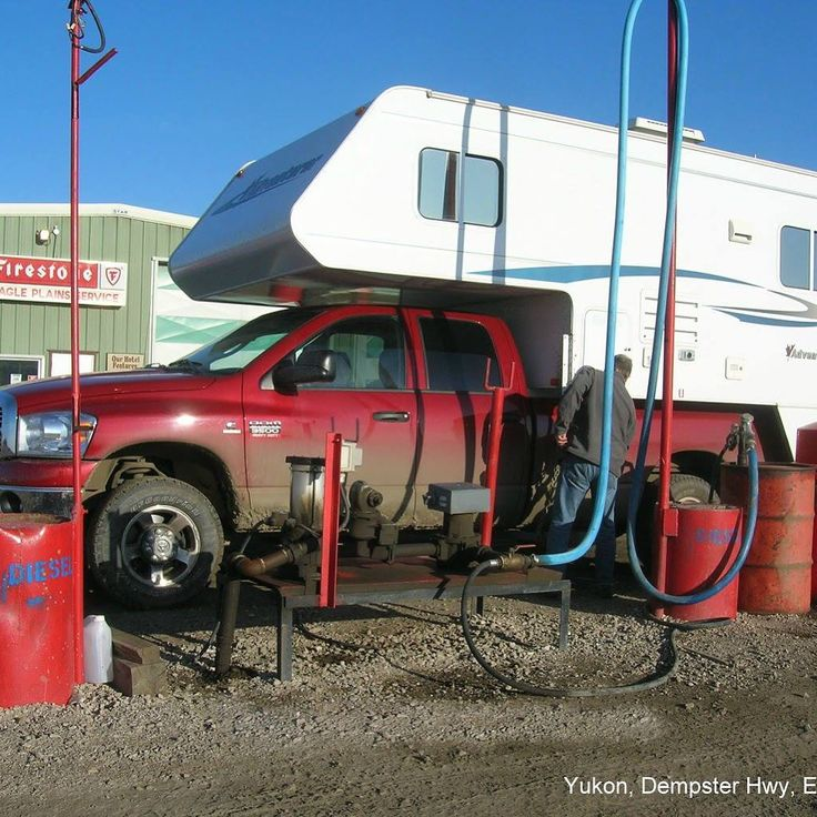 RV Tip: Pay attention to your gas tank when travelling in remote areas. Try to drive on the top half of your tank, as there can be long distances between gas stations.