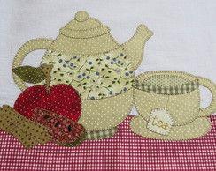 Bule de chá Pano de prato