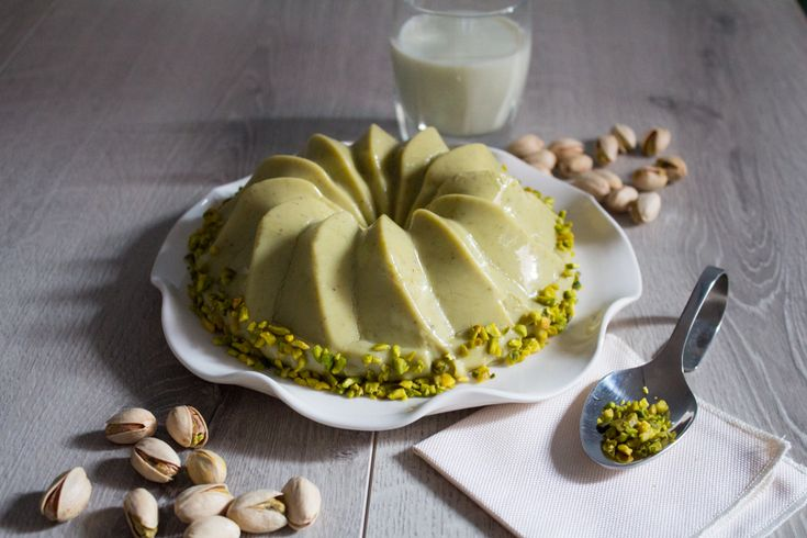 Budino ai pistacchi vegano ricetta