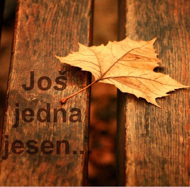 Још једна јесен....