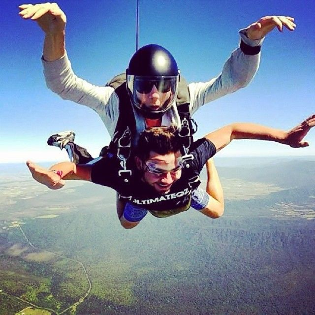 // a u s t r a l i a //   What a view! Skydive organised by  Ultimate Travel. Photo taken by ultimate.travel