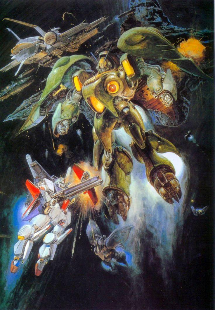 Gundam by Yoshiyuki Takani | ガンダム - 高荷 義之