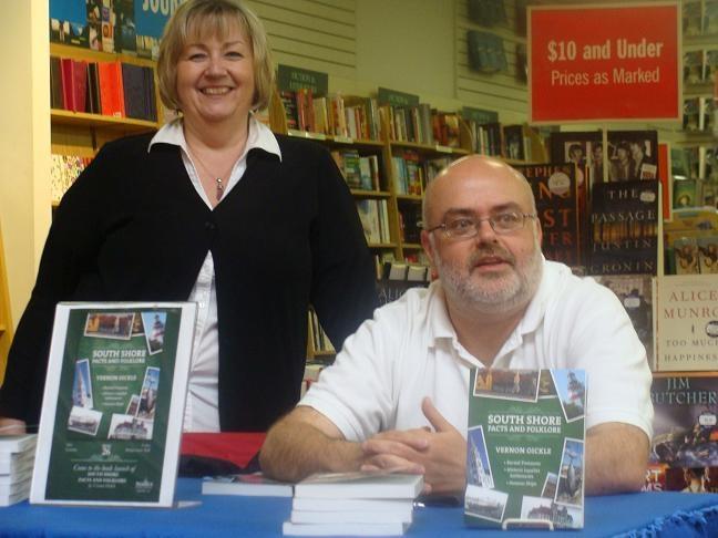 Vernon Oickle at Coles in Bridgewater, Nova Scotia.