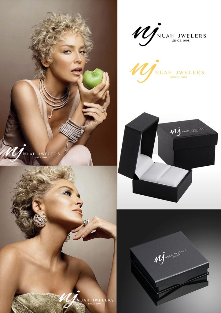Nuah Jwelers logo design presentation
