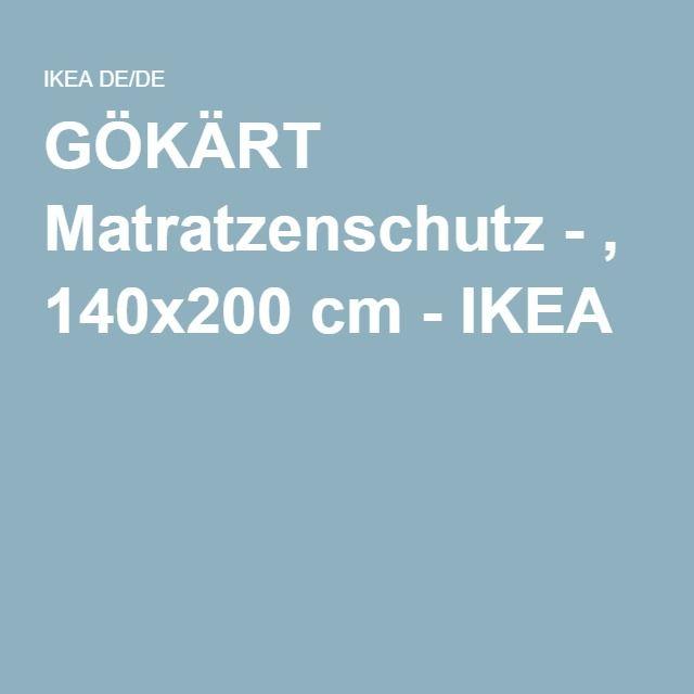GÖKÄRT Matratzenschutz - , 140x200 cm - IKEA