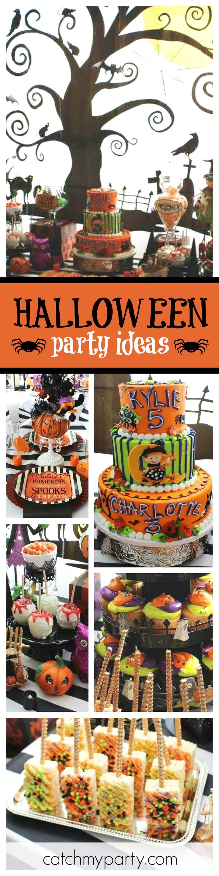 halloween halloween spooktacular birthday bash - Kid Friendly Halloween Decorations