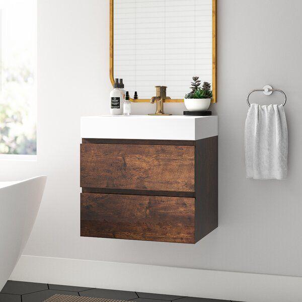 34+ Wall mounted bathroom vanity set custom