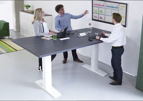 MAX sit-to-stand meetings!