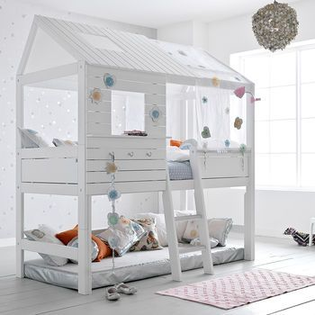 Silversparkle High Hut Children's Treehouse Bed