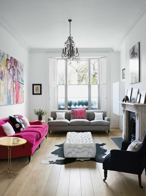 Mismatched sofas-a consideration
