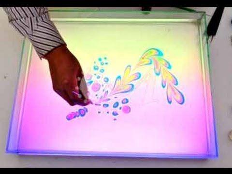 Техника рисования Эбру