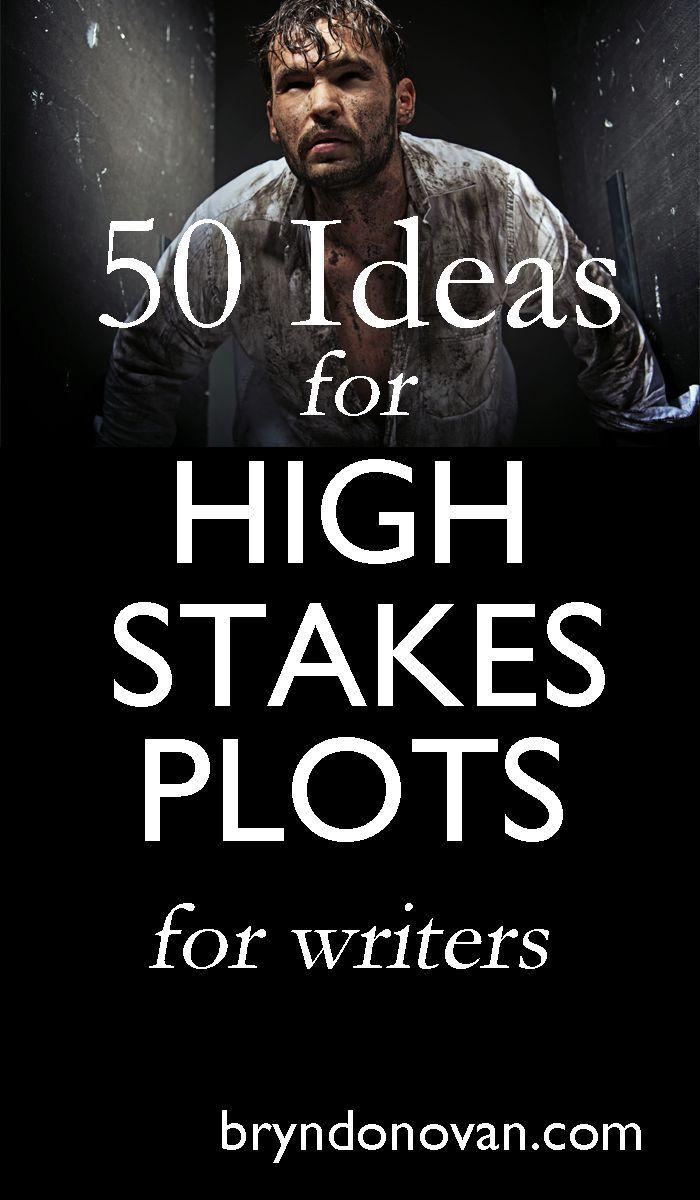 How to Write a Novel: 50 IHigh Stakes Plot Ideas! #writing #nanowrimo