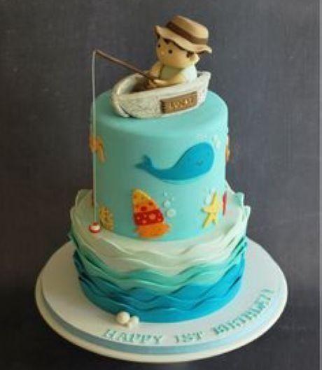 13 best fishing cakes images on Pinterest Fishing cakes Fishing