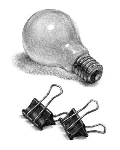 電球とクリップ