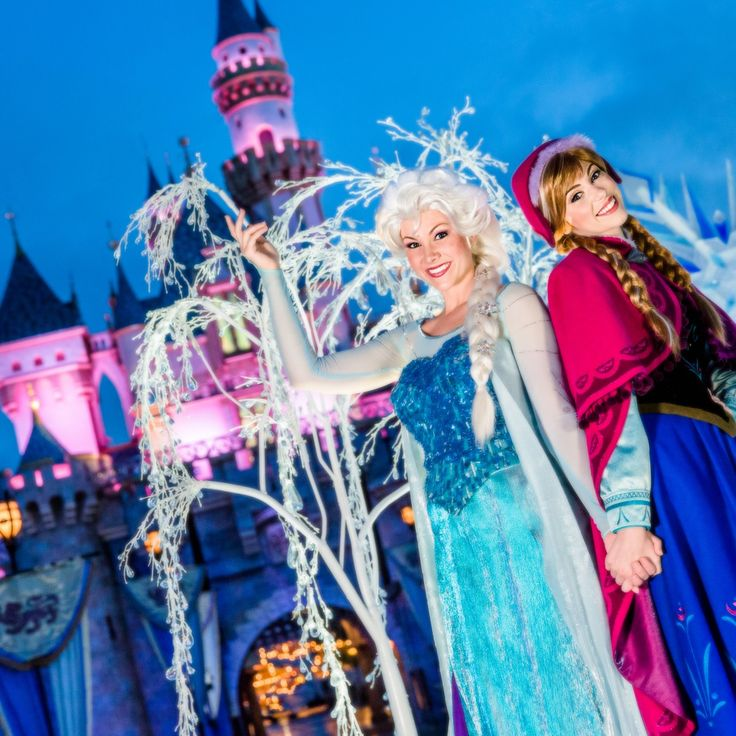 Disneyland Resort welcomes Anna and Elsa from 'Frozen' to 'A Christmas Fantasy' Parade as Holiday Season Begins Nov. 13, 2014, featuring 'Holiday Magic' Fireworks and 'World of Color – Winter Dreams'